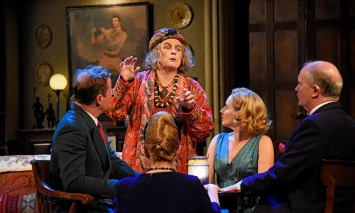Blithe Spirit review – Jennifer Saunders can't save this deadly revival