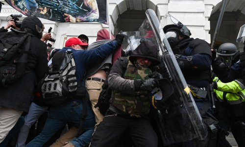 Law enforcement warns of far-right threat to officers' safety