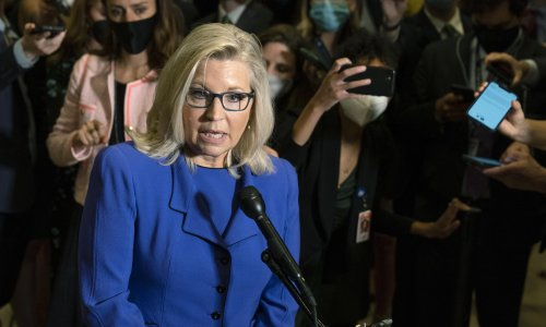 Liz Cheney regrets vote for Trump but won't say she'll leave Republican party