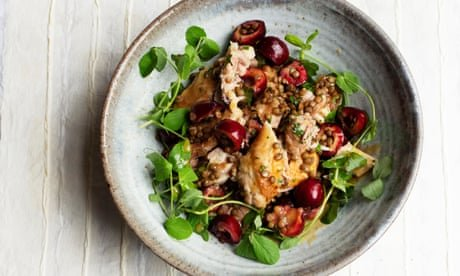 Pork and watermelon, chicken and cherries – Nigel Slater's sweet and sour summer recipes