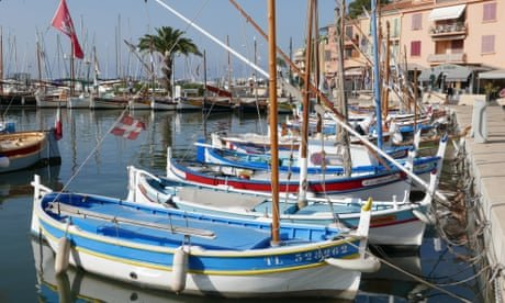 France on holiday: a day at the beach in Sanary-sur-Mer