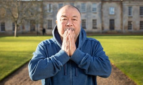 Ai Weiwei on his new life in Britain: 'People are at least polite. In Germany, they weren't'