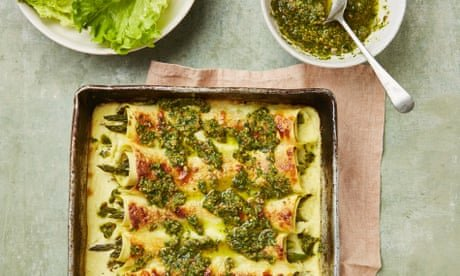 Asparagus cannelloni and broccolini with chorizo: Yotam Ottolenghi's spring recipes