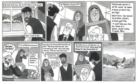 David Squires on Desmond Swayne's comments on Afghans fleeing the Taliban – cartoon