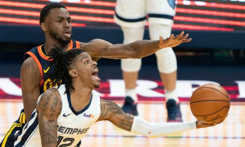 Golden State miss NBA playoffs as Ja Morant's 35 lift Memphis to play-in win