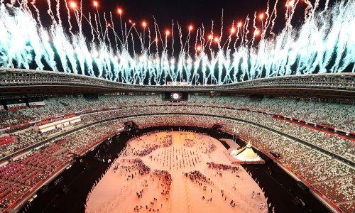 Naomi Osaka provides spark at subdued opening of Tokyo Olympics