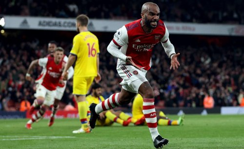 Lacazette saves Arsenal with last-gasp equaliser to deny Vieira's Crystal Palace
