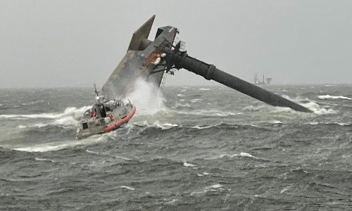 Louisiana vessel capsize: one worker's body recovered and six rescued, 12 still missing