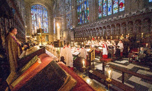 Carols from King's to be sung in empty chapel for first time in a century