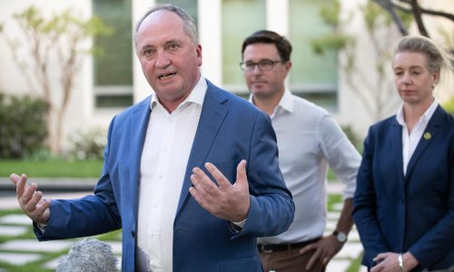 Nationals agree to net zero target by 2050 despite Barnaby Joyce's opposition