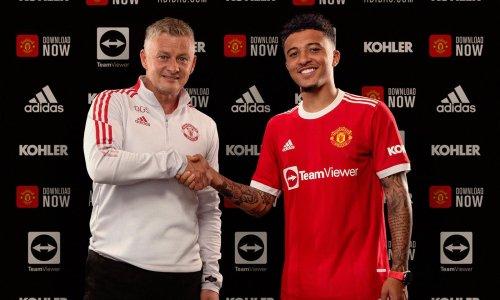 Jadon Sancho seals £73m Manchester United move from Dortmund