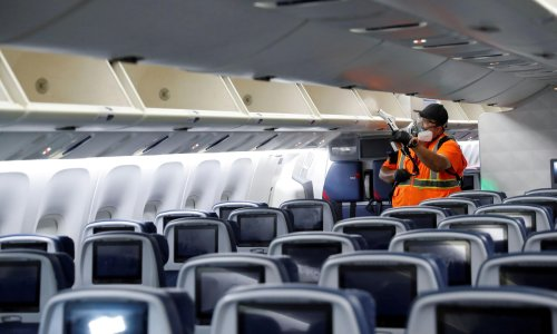 Airline shares soar on US plans to relax Covid travel rules