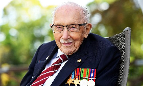 Captain Sir Tom Moore's funeral to get flypast by WWII plane
