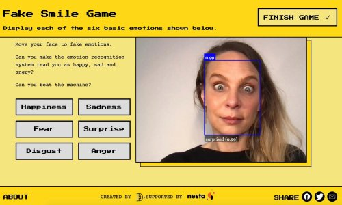 Scientists create online games to show risks of AI emotion recognition