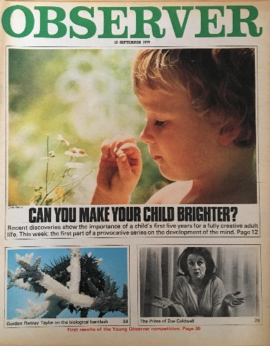 From the archive: how to make your kids learn faster, 1970