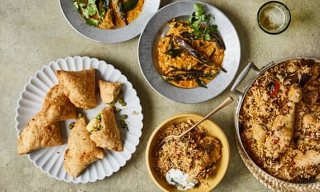 From samosas to chicken biryani: Aktar Islam's recipes for the Holi spring festival