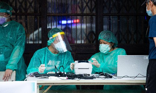 Taiwan records 180 new cases in island's worst Covid outbreak of pandemic