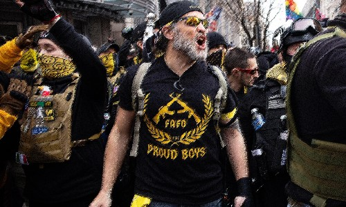 Trump's useful thugs: how the Republican party offered a home to the Proud Boys
