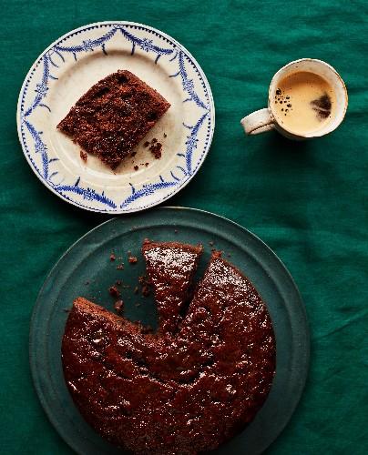 Benjamina Ebuehi's recipe for date and chocolate Christmas cake