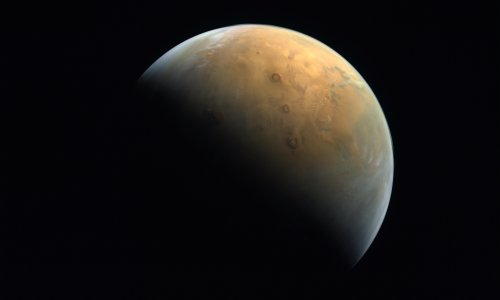 Spacewatch: Hope spacecraft sends back pictures of Mars volcanoes