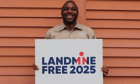 Zimbabwean who cleared Falklands mines urges rethink on 75% cut to clearance programmes