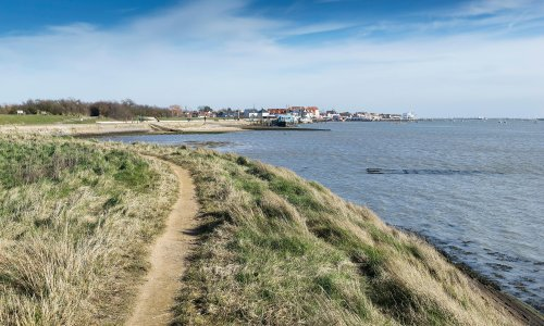 I will walk 500 miles … in search of Darwin's ship on the Essex coast