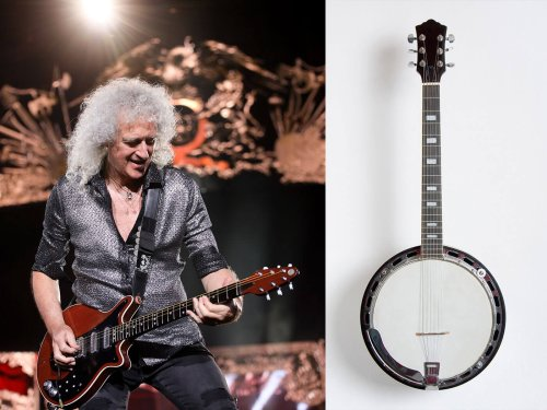 """""""That was the key to everything!"""": Brian May explains how he made custom .008-gauge string sets with banjo strings"""