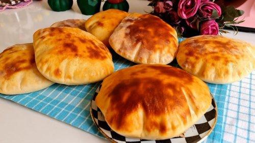 Bu Ekmekler 10 Dakikada Pişiyor: Nefis Pita Ekmeği Tarifi - Gurme Tarif