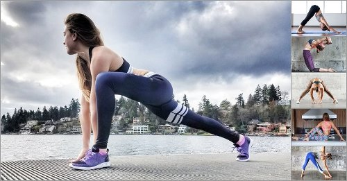 5 Yoga Moves For Runners To Rid Aches And Pains And Improve Your Run - GymGuider.com