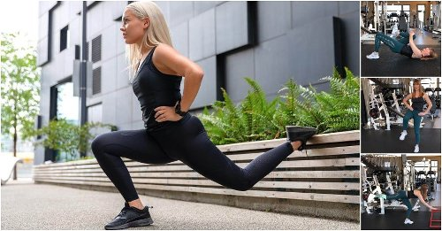 A 10-Second Test to Tell if Your Glutes Are Uneven and 3 Exercises to Fix an Imbalance - GymGuider.com