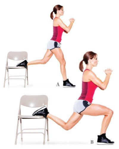 Boost Your Energy Using Only A Chair With This 6 Move Workout