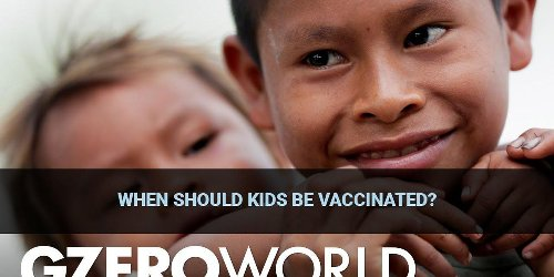 When can kids get vaccinated against COVID-19?