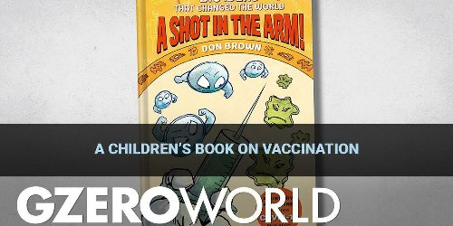 A children's book on vaccination