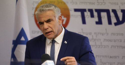 Lapid Suggests Political Considerations Are Behind Israel's Gaza Operation