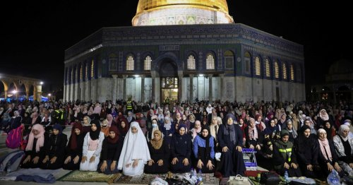 Thank You, Residents of Al-Quds