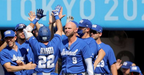 Israeli Baseball Team Scores Historic Win Against Mexico at Tokyo Olympics