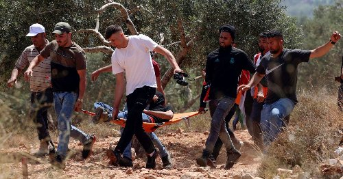 Reality of a West Bank Outpost: Four Dead Palestinians and Drone Spraying Tear Gas