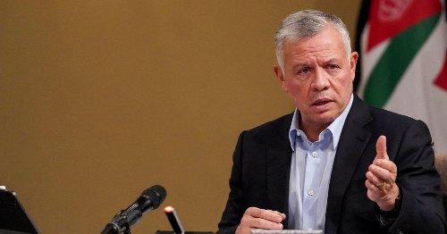 Jordan's King Says 'Intensive' Diplomacy Underway to Halt Gaza Flare-up