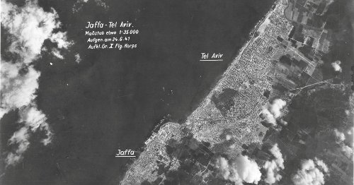 Never-before-seen Aerial Photos of Pre-state Israel Taken by a Nazi Pilot
