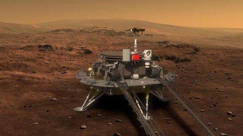 Çin duyurdu: Mars'a iniş yaptı
