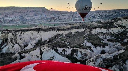 Kapadokya Nisan ayında 74 bin 458 turisti ağırladı