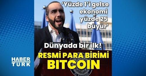 Bitcoin resmi para birimi oluyor