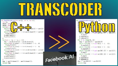 The Facebook TransCoder Explained: Converting Coding Languages with AI