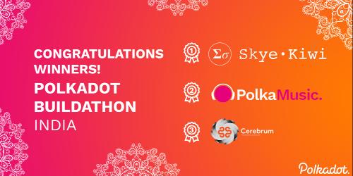 Meet the winners of the Polkadot Buildathon: India