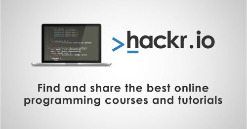Goababes's best Programming courses recommendations on Hackr.io