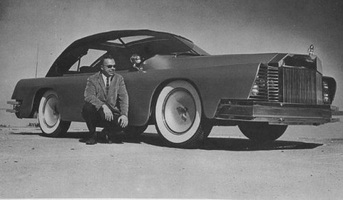 Mr. Mohs and his amazing motor cars