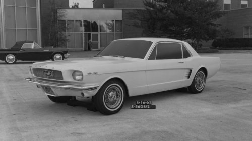 Celebrate the Ford Mustang's 57th birthday with these just-unearthed development documents