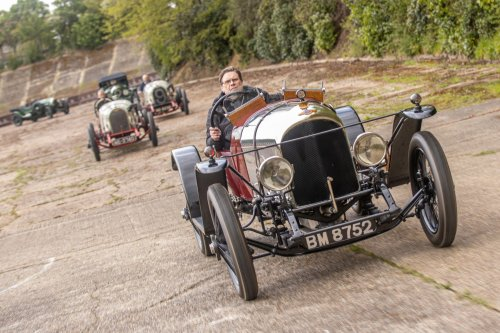 Bentley celebrates a century of winning at Brooklands