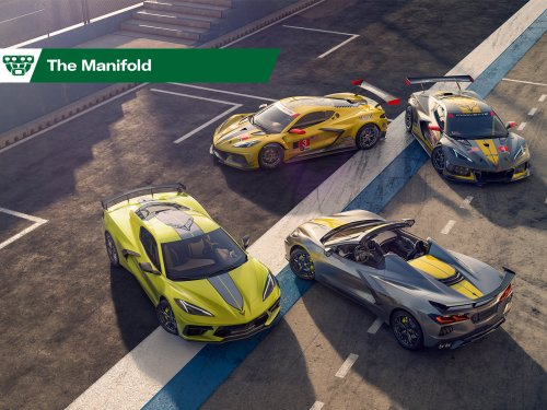 2022 Corvette ushers in IMSA special edition, '22 Civic hatch retains manual, Hot Wheels C10 drops it low