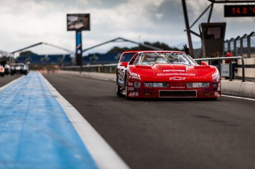 "This '95 Corvette ZR-1 braved Le Mans with ""Black Widow"" power"